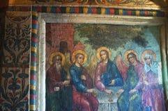 Cathédrale de saint Basil, Moscou, ville fédérale russe, Fédération de Russie, Russie Image libre de droits