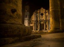 Cathédrale de saint Christopher en La La Havane. Image libre de droits