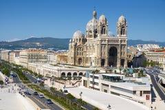 Cathédrale de saint Mary Major à Marseille, France Image stock