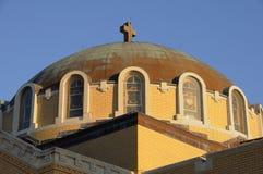 Cathédrale de Saint-Nicolas dans Tarpon Springs Image libre de droits