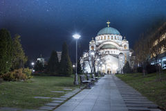 Cathédrale de saint Sava Belgrade Serbia photographie stock