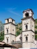 Cathédrale de saint Tryphon dans Kotor photographie stock libre de droits