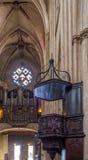 Cathédrale de Sainte-Marie De Bayonne france image libre de droits