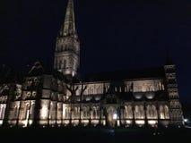 Cathédrale de Salisbury photo stock