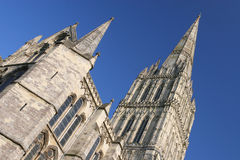 Cathédrale de Salisbury Photo stock