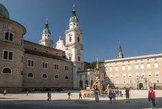 Cathédrale de Salzbourg image libre de droits
