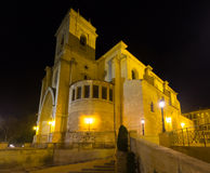 Cathédrale de San Juan de Albacete l'espagne photos stock
