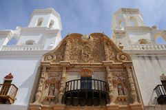 Cathédrale de San Xavier Del Bac Mission Photos stock