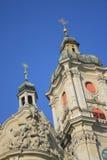 Cathédrale de Sankt Gallen Image stock