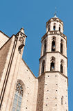 Cathédrale de Santa Maria del Mar Images libres de droits