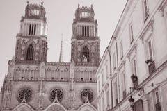 Cathédrale de Sante Croix, Orléans Photos stock