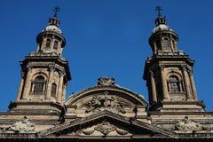 Cathédrale de Santiago de Chili Photos libres de droits
