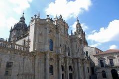 Cathédrale de Santiago de Compostela Photo stock