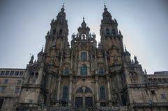 Cathédrale de Santiago de Compostela Photos libres de droits