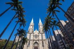 Cathédrale de Se à Sao Paulo du centre Photo stock