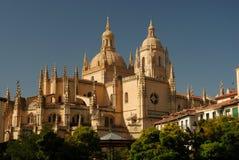 Cathédrale de Segovia Images libres de droits