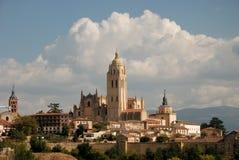 Cathédrale de Segovia Photos libres de droits