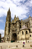 Cathédrale de Senlis, France Photographie stock