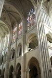 Cathédrale de Senlis, intérieure Photo stock