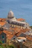 Cathédrale de Sibenik Photo libre de droits