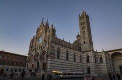 Cathédrale de Sienne images libres de droits