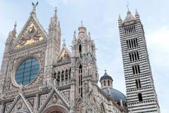 Cathédrale de Sienne Photos stock