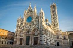 Cathédrale de Sienne images stock