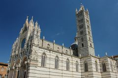 Cathédrale de Sienne Photographie stock