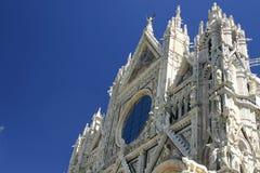 Cathédrale de Sienne, Italie Photographie stock libre de droits