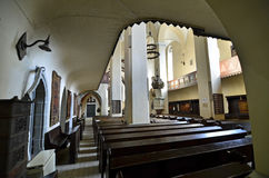 Cathédrale de Sighisoara Image stock
