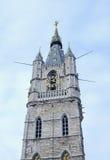 Cathédrale de Sint-Baafs à Gand, Belgique Photographie stock