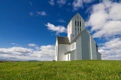Cathédrale de Skalholt Photo stock