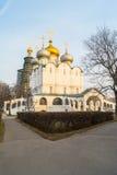 Cathédrale de Smolensky dans le couvent de Novodevichy, Moscou Photo libre de droits