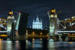 Cathédrale de Smolny photo libre de droits