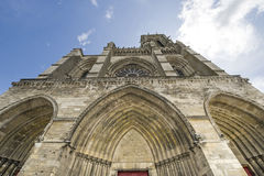 Cathédrale de Soissons Photographie stock libre de droits
