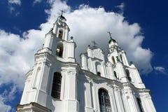 Cathédrale de Sophia de saint dans Polotsk Photos stock