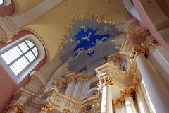 Cathédrale de Sophia de saint dans Polotsk Images stock