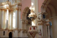 Cathédrale de Sophia de saint dans Polotsk Photographie stock libre de droits