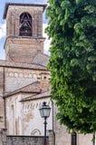 Cathédrale de Spilinbergo dans le friuli Photo libre de droits