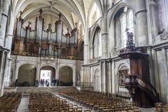 Cathédrale de St André en Bordeaux, France images libres de droits