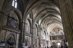 Cathédrale de St André en Bordeaux, France photos libres de droits