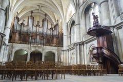Cathédrale de St André en Bordeaux, France photographie stock