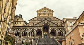 Cathédrale de St Andrew, Amalfi, Italie Photo libre de droits