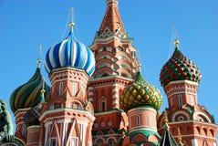 Cathédrale de St.Basil à Moscou. Photographie stock