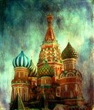 Cathédrale de St Basil Photo libre de droits