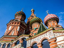 Cathédrale de St Basil Photos stock