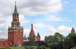 Cathédrale de St Basil de Moscou Kreml photographie stock