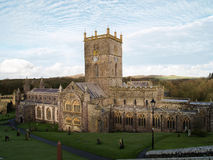 Cathédrale de St Davids Photos libres de droits