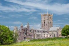 Cathédrale de St Davids, Pays de Galles photos libres de droits