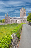 Cathédrale de St Davids, Pays de Galles, R-U photo libre de droits